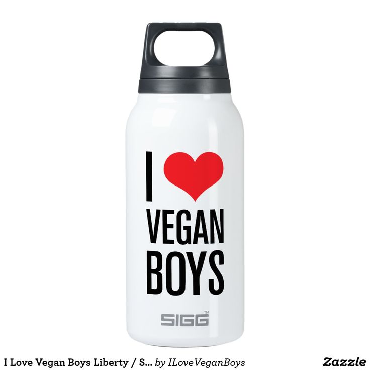 I Love Vegan Boys Liberty / SIGG Bottle