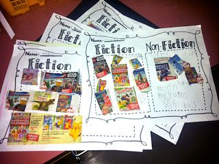 fiction vs nonfiction book order sort