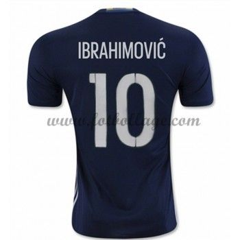 Sverige Landslagströja 2016 Ibrahimovic 10 Borta Tröjor