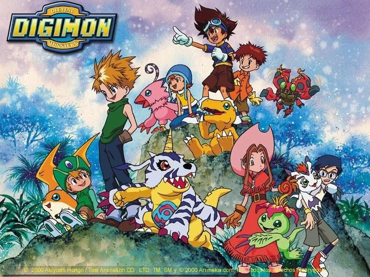 Pokemon is still out there but anyone remember digimon? LoL good times