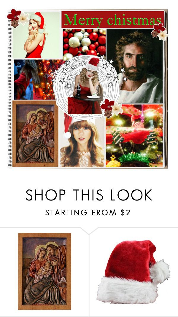 """""""Merry chistmas & happy Birthday Jesus! Swiftmas day 24"""" by royal-swift ❤ liked on Polyvore featuring beauty and NOVICA"""