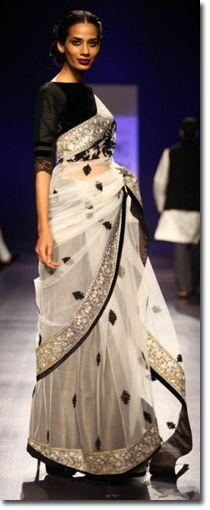 Manish Malhotra Sarees - Fashion Week 2