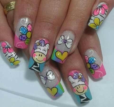 Zebra Nail Art Nail Design Ideas Pinterest Nail Art Nails And