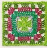 Patrón #1237: Granny a Ganchillo | CTejidas [Crochet y Dos Agujas]
