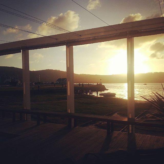 Sunset and fishing.  www.thelofts.co.za