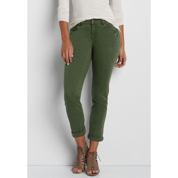 Excellent Dittos Women39s Forest Green Denim Pants  Free Shipping On Orders Over