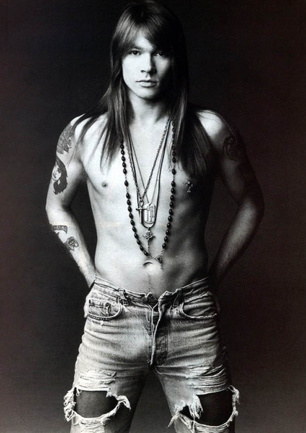 Axl Rose by Herb Ritts, 1991