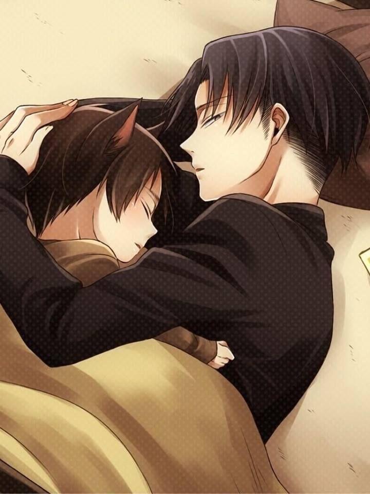 Let me sleep....in your arms | Levi x Eren | Pinterest | Sleep