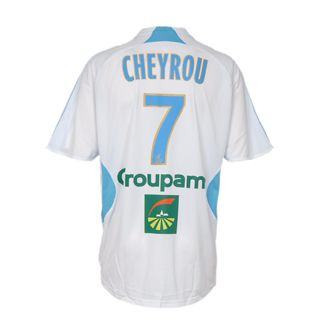 Marseille Adidas 07-08 Marseille home (Cheyrou 7) Official http://www.comparestoreprices.co.uk/football-kit/marseille-adidas-07-08-marseille-home-cheyrou-7-.asp