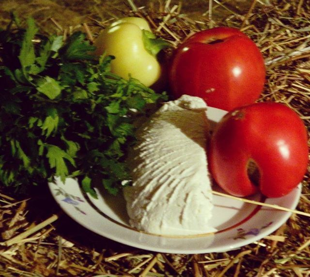 Легкий загородный завтрак -овощи с рикоттой! #ricotta #homemakercheese #holiday #nature #nataliademianova #naturmort #рикотта #сыроделие #сырназавтрак #сырназаказ #instafood #tastyfood #tomato  Yummery - best recipes. Follow Us! #tastyfood