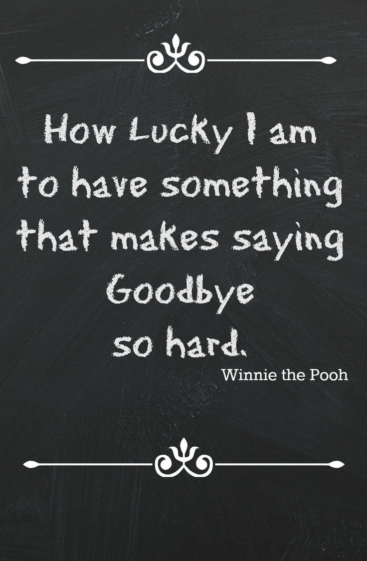 Winnie The Pooh Goodbye Quotes. QuotesGram