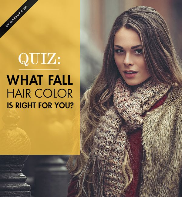Want to know which fall hue is right for you? Take our quiz to find out which hair color YOU should rock this season!