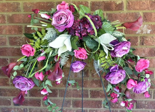 54 best images about Floral Swags on Pinterest  Oak leaves, Silk plants and Dry flowers