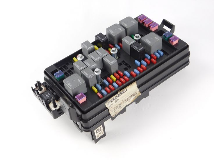 fuse relay box is a box gmc canyon interior fuse relay box