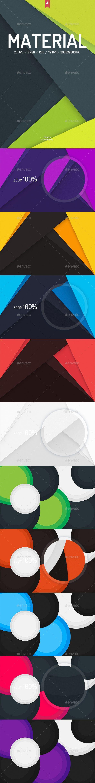 20 Material Design Backgrounds #design Download: http://graphicriver.net/item/20-material-design-backgrounds/13745604?ref=ksioks