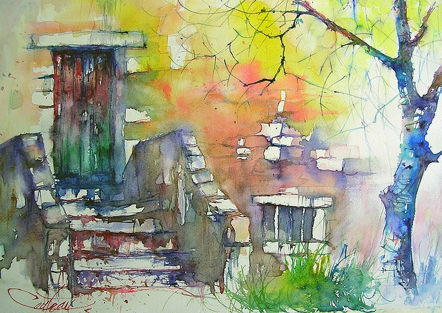 17 Best Images About Watercolour Doors Amp Windows On