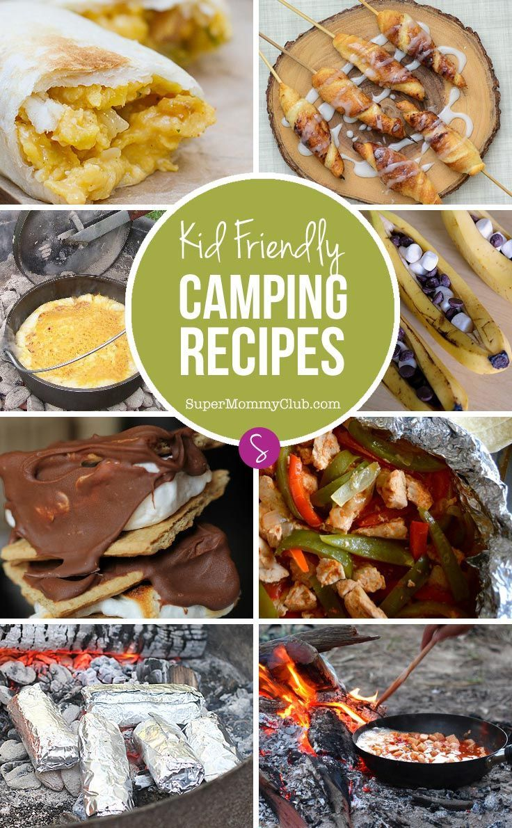Whether you're heading off on a big family camping trip, or you just want to give the kids a taste of adventure in the backyard you're going to need some tasty camping recipes to fill those hungry tummies. And we've got 12 super simple ideas right here for you!