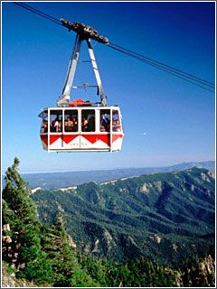 Albuquerque Tram....Sally & Amy were not too fond of this....me and Callie loved it!