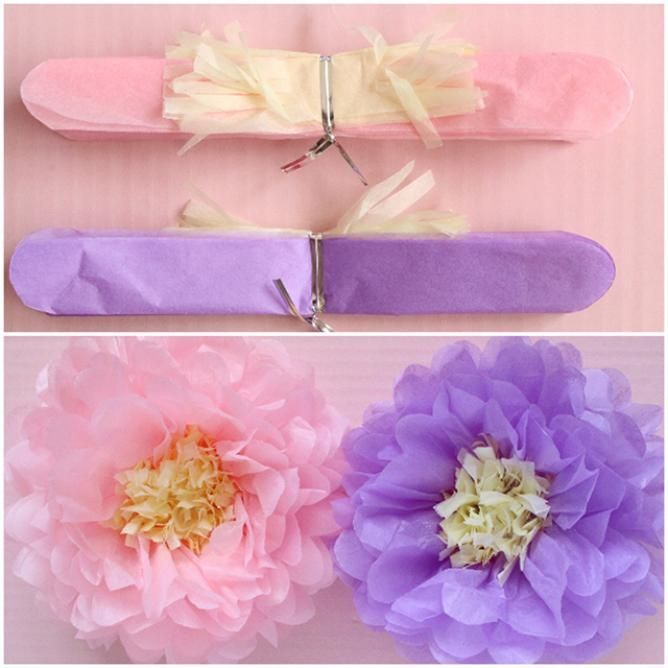 """Various flowers made with """"flower paper"""". When I was a child, I often saw it at the sports festival, birthday party, Christmas party and so on. That old old """"flower paper"""" is now popular abroad as an adult interior item. Image freely by choice and color selection! Since flower papers are available in 100 yen, please try by all means"""