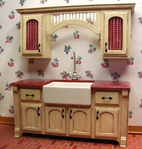 how to: kitchen cabinets from mat board