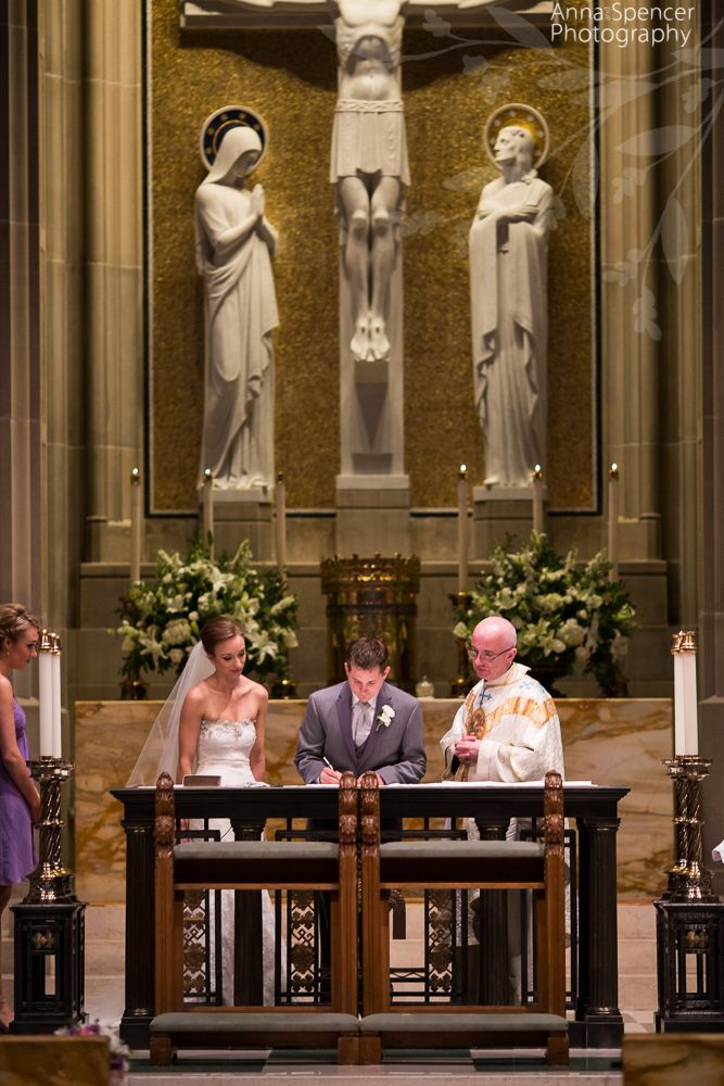 wedding venues on budget in atlanta%0A Anna and Spencer Photography  Atlanta Wedding Ceremony Venue  The Cathedral  of Christ the King
