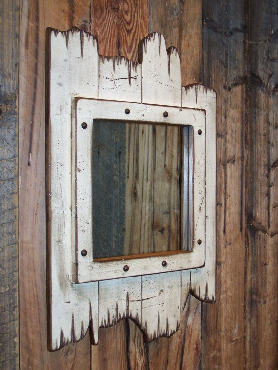 pallet mirror frame instructions