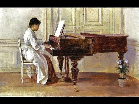 Relaxing Piano Music by Claude Debussy, with Impressionist's Paintings B...