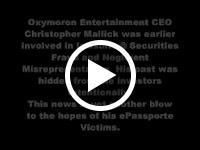 Christopher Mallick Photo at Oxymoron Entertainment