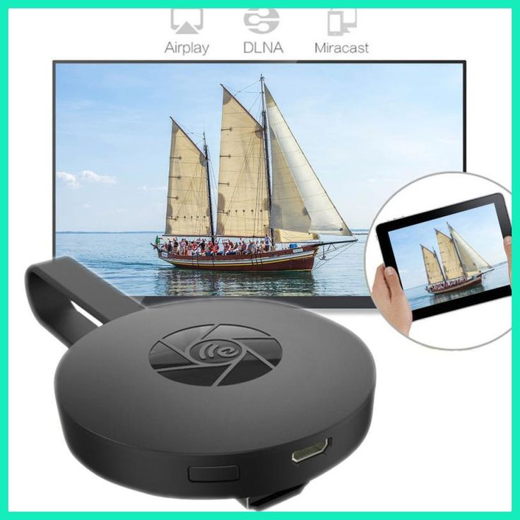 Del For Miracast Chromecast 2 Digital HDMI Media Video Streamer 2nd Generation 2017 Aug25