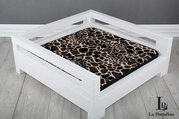 Drewniane legowisko dla psa kota Model LD2 74x74 - LA_PORTOFINO - Legowiska dla psów