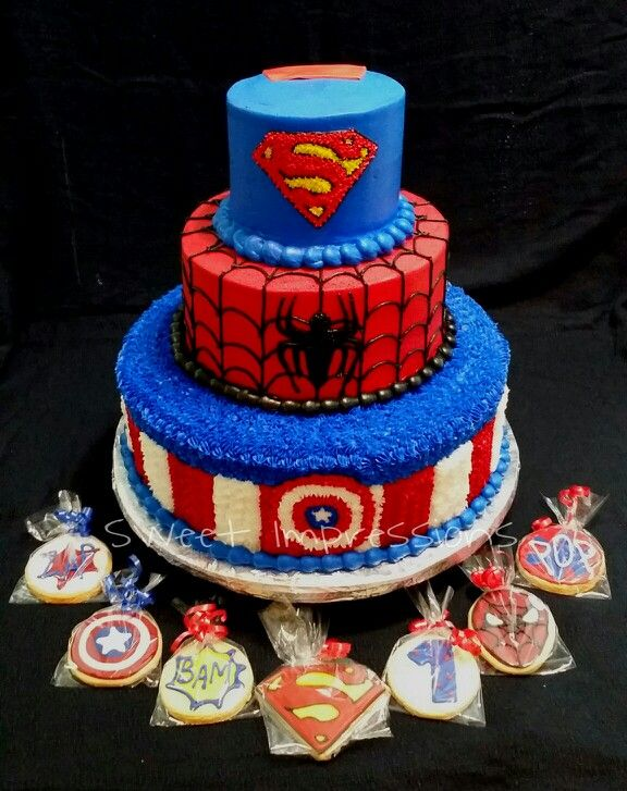 Images Of Captain America Cakes