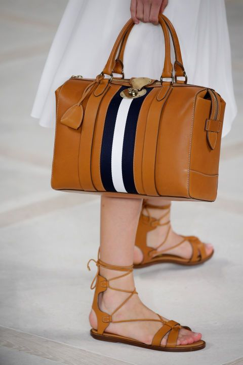 Spring 2016 Bags - The Best Handbags From New York Fashion Week Spring 2016 - ELLE - Ralph Lauren