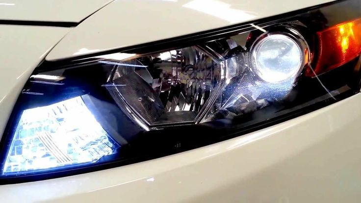 08 12 Honda Accord Coupe Hid Led Drl Switchback Turn