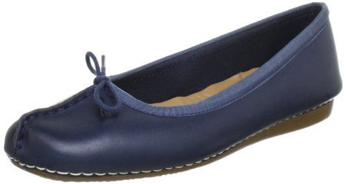 Clarks Freckle Ice, Damen Mokassin, Blau (Navy Leather), 37 EU (4 Damen UK) - http://on-line-kaufen.de/clarks/37-eu-clarks-freckle-ice-damen-geschlossene-3