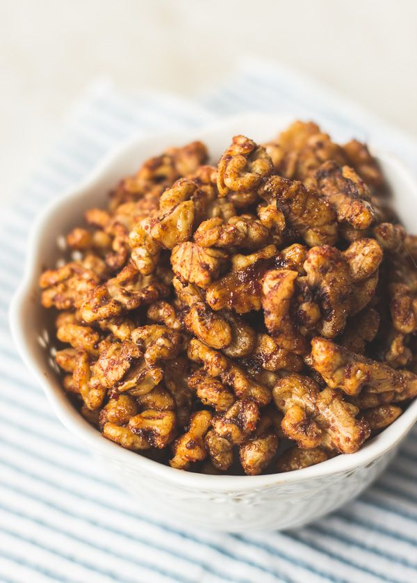 Spicy Korean-Style Roasted Walnuts - The Adventures of MJ and Hungryman