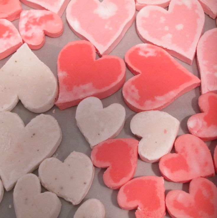 Homemade Candy (Conversation) Hearts | v-day | Pinterest