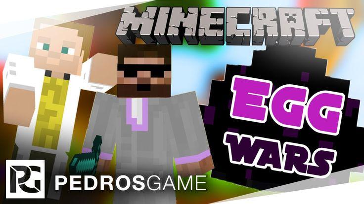 Pedro a GEJMR | Minecraft minihry | E36 - EggWars | PC CZ/SK | 1080p 60FPS