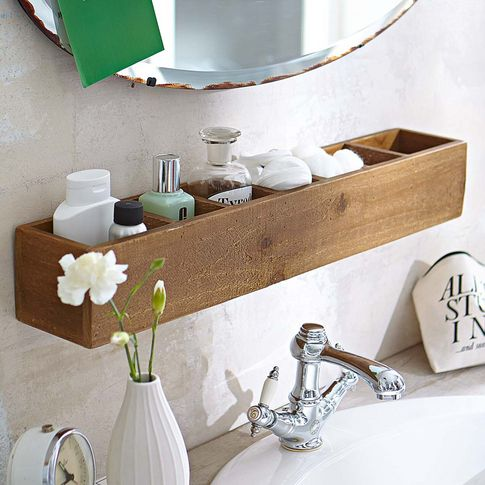 Elegant 20 Clever Pedestal Sink Storage Design Ideas
