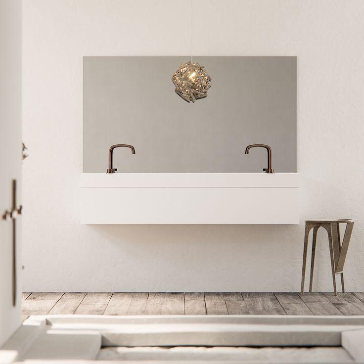 17 beste idee n over badkamer kranen op pinterest kranen moderne badkamers en modern - Badkamer cocooning ...