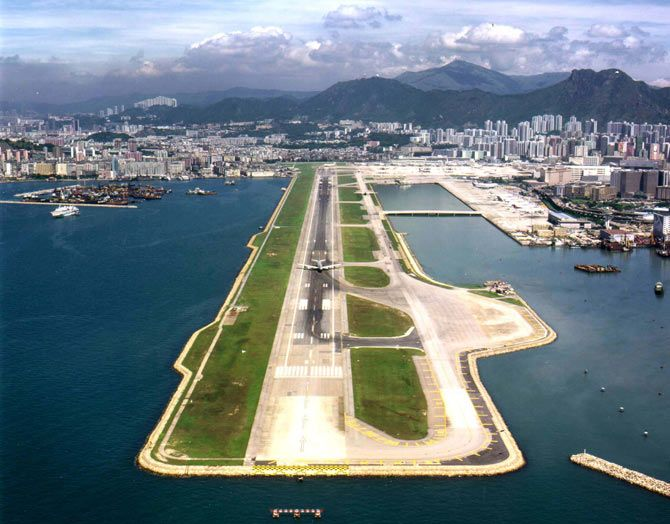 The Kai Tak Airport, Hong Kong