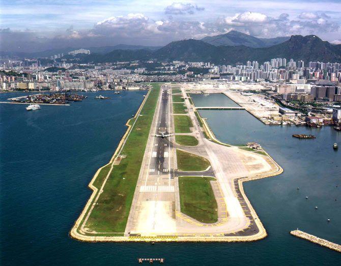 The Kai Tak Airport, Hong Kong