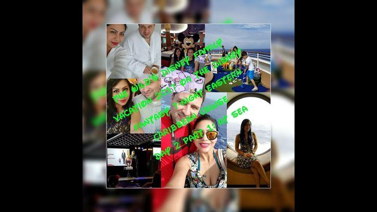 Disney Fantasy Eastern Caribbean Cruise 2017 Vacation:Day 2 Senses Spa a...