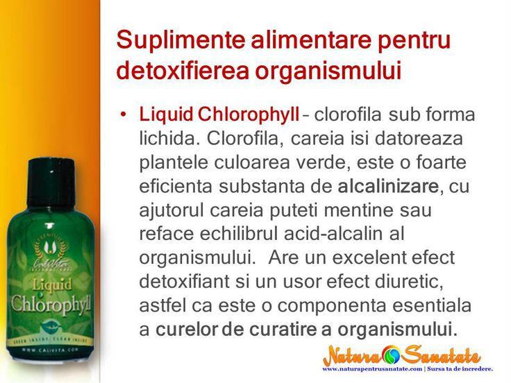#Clorofila #lichida pentru #alcalinizare si #detoxifiere. #calivita