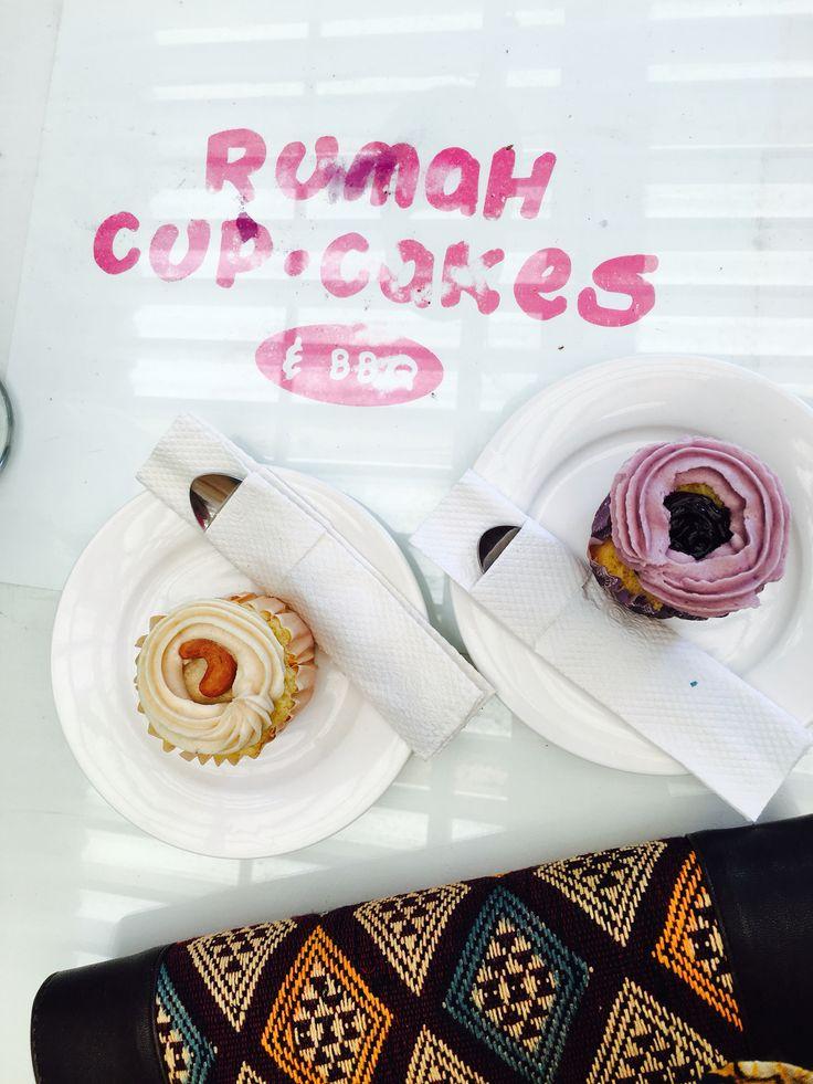 Cupcakes at Rumah Cupcakes, Bogor, West Java, Indonesia