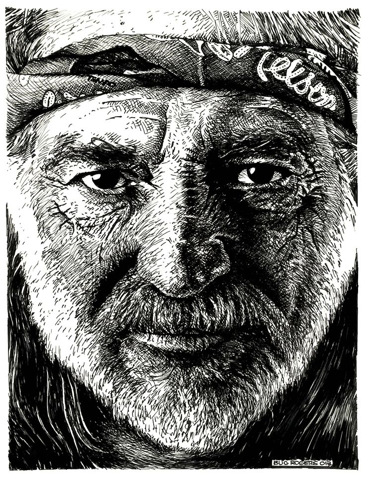 tribute to Willie Nelson by EnricBug