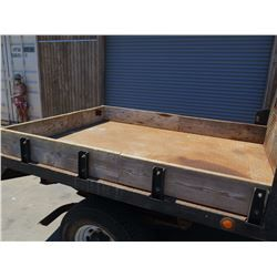04 Ford F350 Truck - Flatbed with Wooden Box