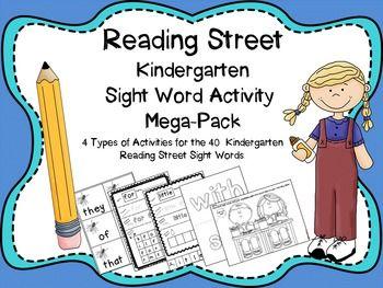48 best reading street grade 1 images on pinterest reading street reading street kindergarten sight word mega pack fandeluxe Images