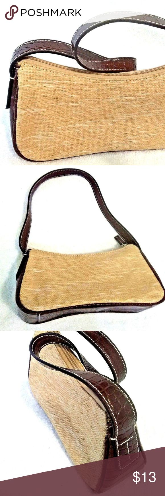 Tommy Hilfiger Small Purse/handbag Brown and Beige Tommy Hilfiger Small Purse/handbag Brown and Beige in Great Condition. ON SALE! Tommy Hilfiger Bags Mini Bags