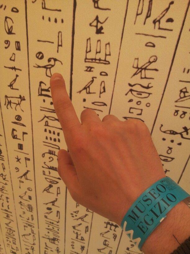 A #Torino si può...imparare a leggere i geroglifici ( o almeno provarci) percorrendo le magnifiche sale del #nuovo #MuseoEgizio.