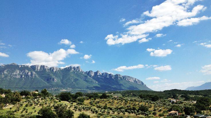 Alburni's mountain